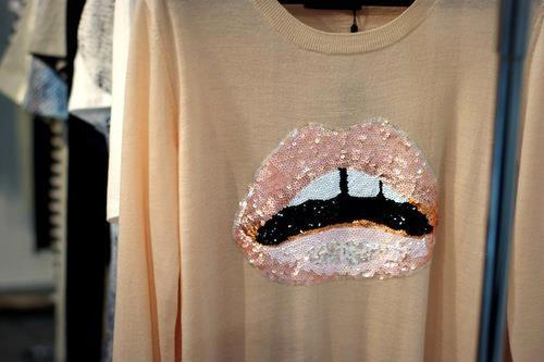 fashion, lips, and pink image