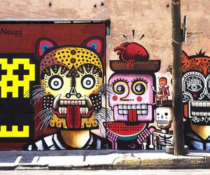 graffiti and street art image