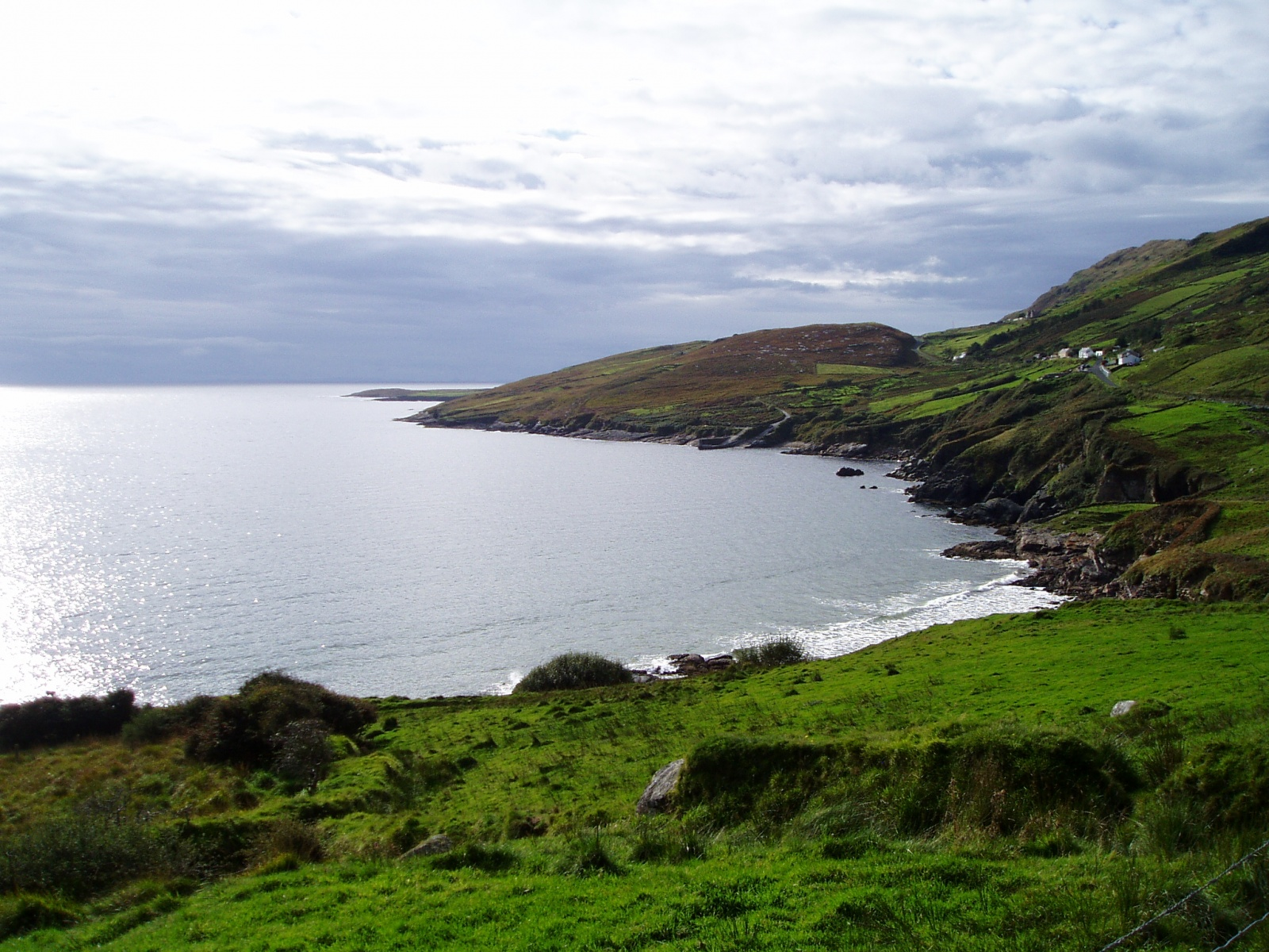 nature, cliff, and ireland image