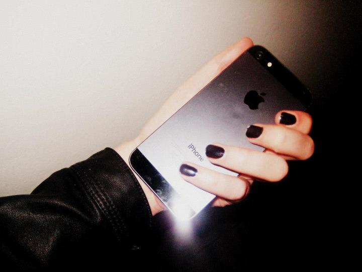 apple, awesome, and black image