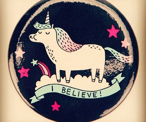 unicorn and believe image