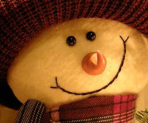 christmas, plushie, and snowman image
