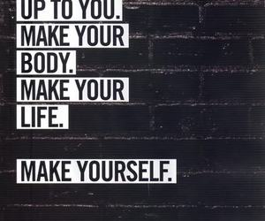 nike, quotes, and fitspiration image