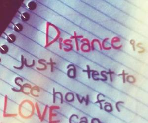 distance, strong, and test image
