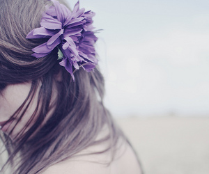 beauty, flower, and breeze image