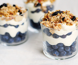 blueberries, cool, and food image
