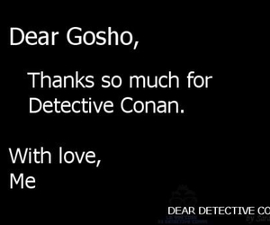 thanks, detective conan, and case closed image