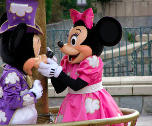 disney, mickey, and pink image