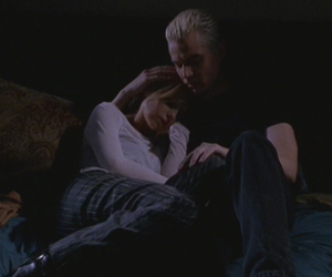buffy, spuffy, and spike image