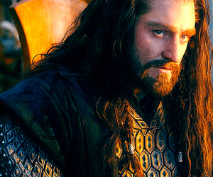 the hobbit, thorin, and thorin oakenshield image