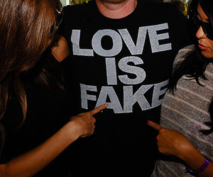 love, fake, and boy image