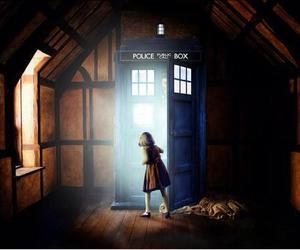 doctor who, narnia, and tardis image