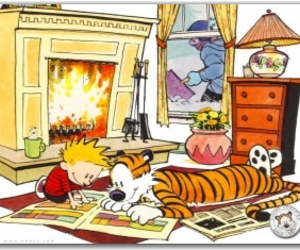 calvin and comic image