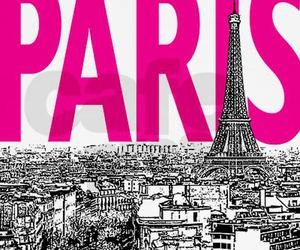 paris, pink, and cute image