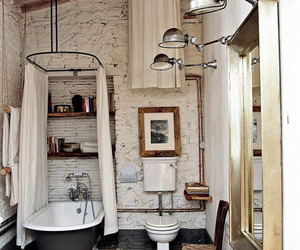 bathroom, home, and house image