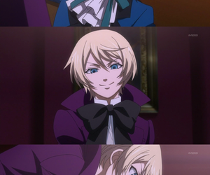 black butler, alois, and ciel image