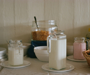 milk and breakfast image