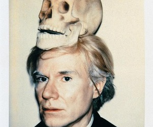 andy warhol, skull, and art image