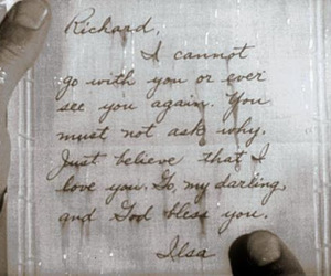 Casablanca, Letter, and movie image