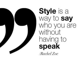 quote, style, and fashion image
