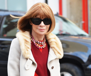 accessories, Anna Wintour, and fashion image