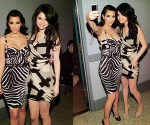 selena gomez and kim kardashian image