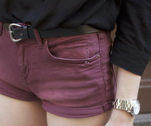 denim shorts, outfit, and fashion image