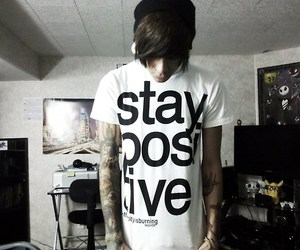 boy, tattoo, and positive image