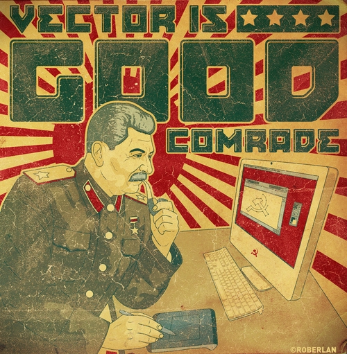 design, poster, and stalin image