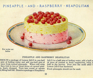 raspberry and vintage image