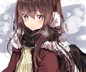 anime, illustration, and girl image