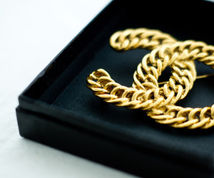 gold and chanel image