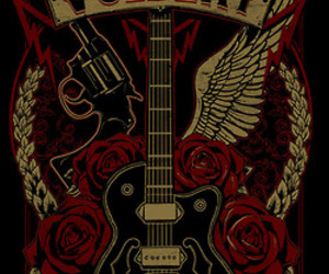 band, music, and volbeat image