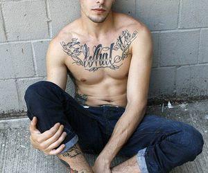 boy, shirtless, and man image