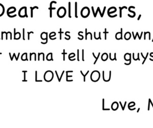followers, text, and tumblr image