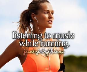 music, running, and run image
