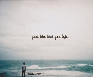 sea, quote, and text image
