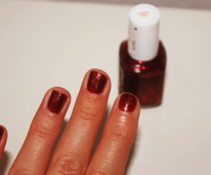christmas, nail polish, and nails image
