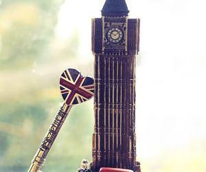 london, Big Ben, and key image