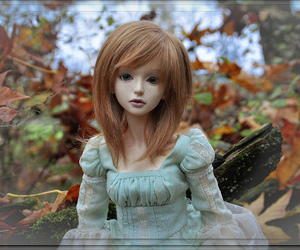 ball jointed doll, bjd, and dollfie image