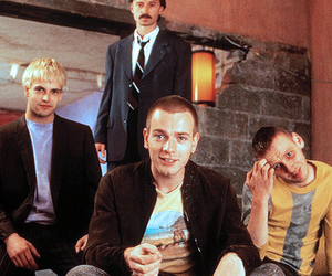 trainspotting, ewan mcgregor, and movie image