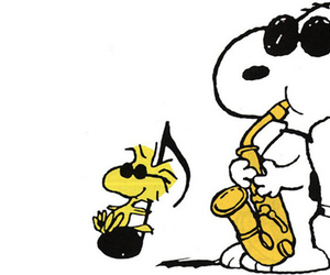 music and snoopy image