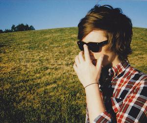 boy, glasses, and sunglasses image