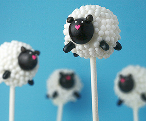 sheep, cute, and food image