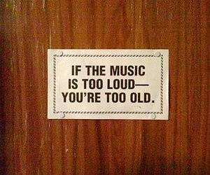 music, old, and loud image