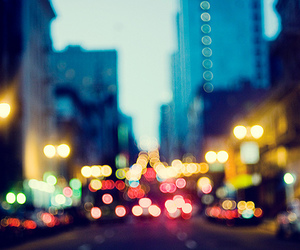 light, city, and bokeh image