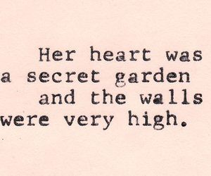quotes, heart, and secret image