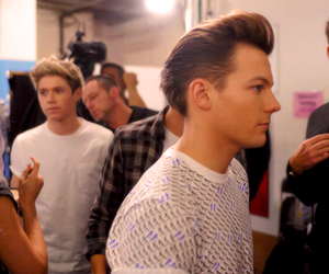 louis tomlinson, one direction, and niall horan image
