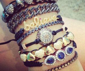 accessories, bracelet, and girl image