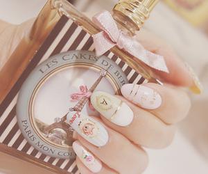nails, nail art, and paris image
